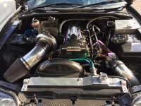 Whifbitz Supra fitted with a Borg Warner 1000bhp turbo