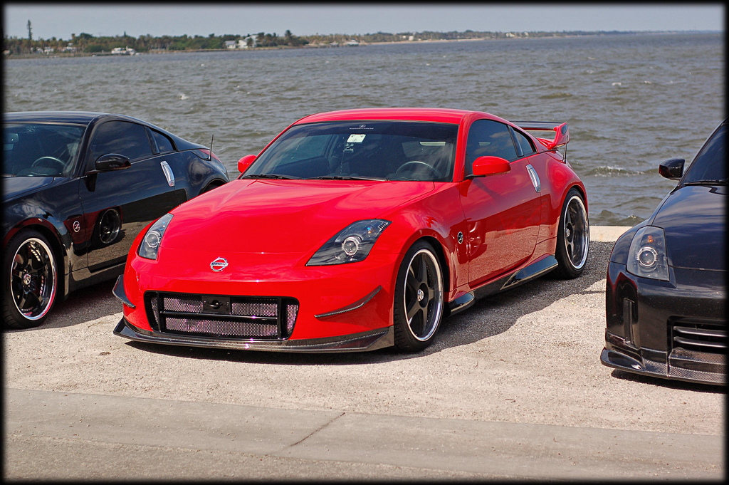 Shine Auto Project 350z Spec V2 Front Bumper With Carbon Kevlar Lip Garage Whifbitz