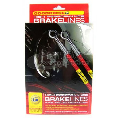 Goodridge Braided Brake Line Kit Toyota Soarer
