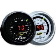 AEM Digital Oil/Fuel Pressure Gauge