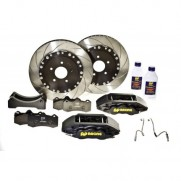 AP Racing 4 Pot 335mm Rear Factory Big Brake Kit Impreza 2001-07