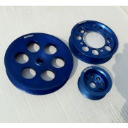 Garage Whifbitz 2JZ/1JZ Billet Engine Pulleys