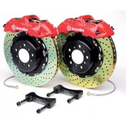 Brembo GT 4 pot 345mm Supra Rear Brake Kit