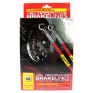 Goodridge Plated Braided Brake Line Kit Subaru Impreza P1