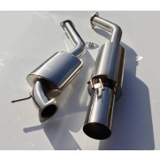 "Garage Whifbitz 3"" S/S Twin Box Supra Exhaust"
