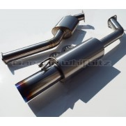 "Garage Whifbitz 3"" Titanium Supra Exhaust Twin Box"
