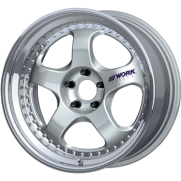 Work Meister S1 3 Piece Alloy Wheel
