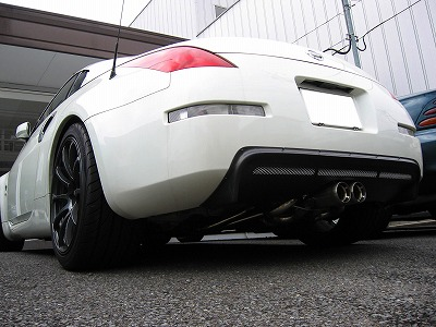 Shine Auto Project 350z Spec R Rear Centre Add On Diffuser