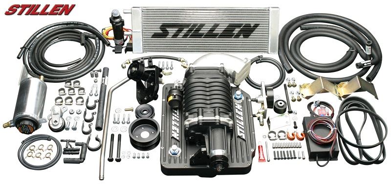 Stillen Nissan 350z Supercharger Kit Garage Whifbitz