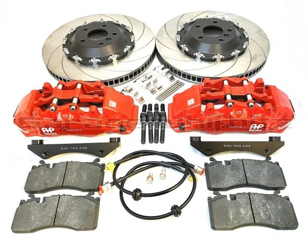 New product - Garage Whifbitz AP Racing 382mm 6 Pot Front Brake Kit for the GR Toyota Supra A90 & BMW Z4 G29.