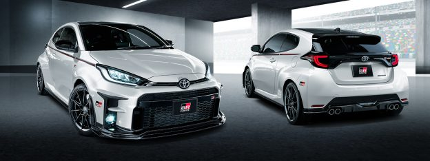 TRD GR Yaris parts now in stock!